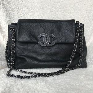 Chanel Hamptons CC Accordion Flap Bag
